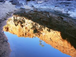 Ormiston-Gorge-Reflection